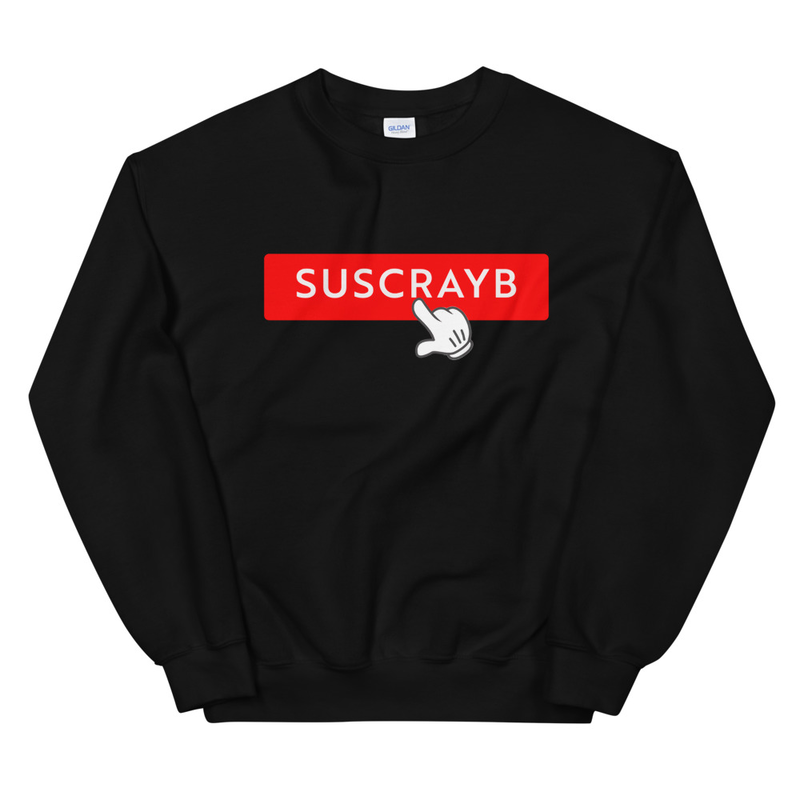 SUSCRAYB Unisex Sweatshirt