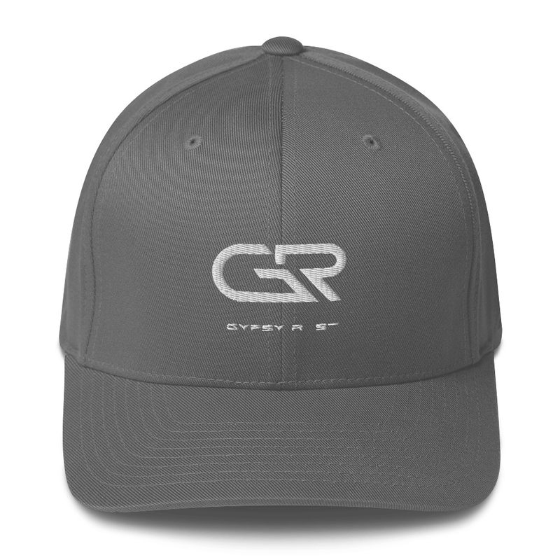 Cap White Logo