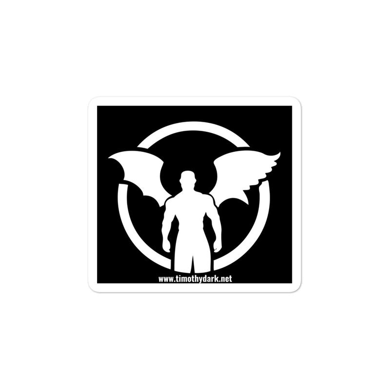 """TD"" Standing Man Logo Bubble-free stickers"