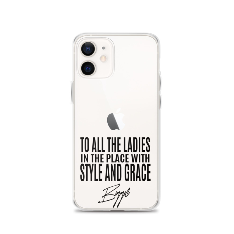 STYLE AND GRACE iPhone CASE