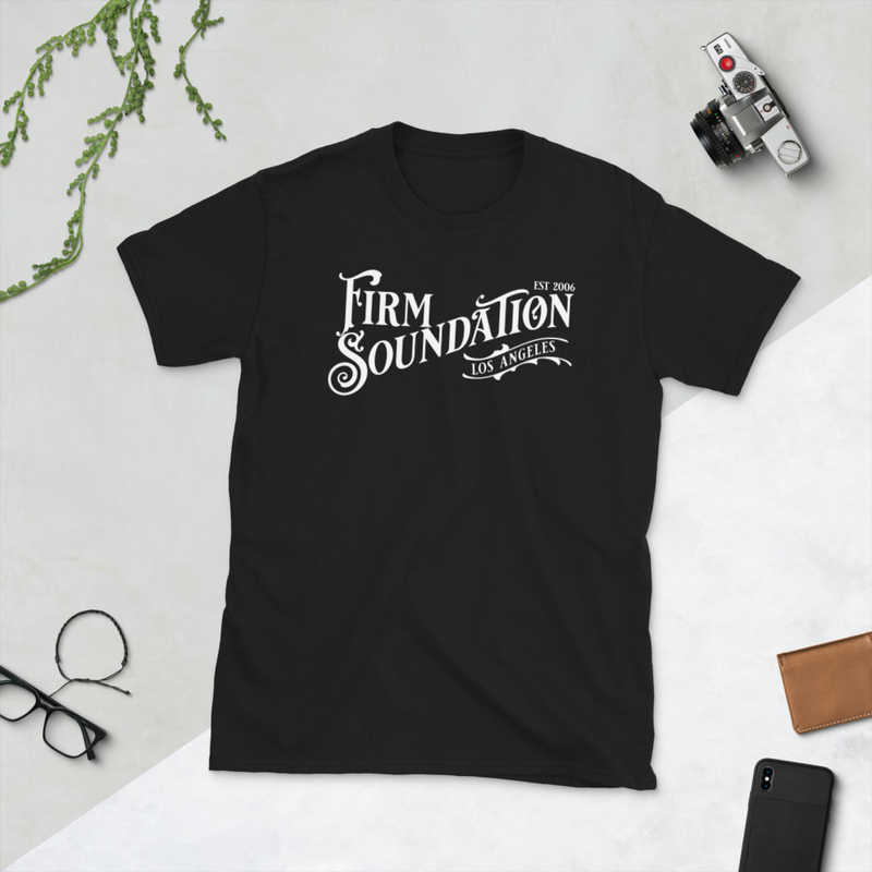 Firm Soundation Est Wordmark (Black)