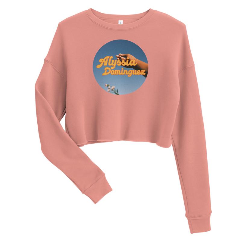 Alyssia Crop Sweatshirt