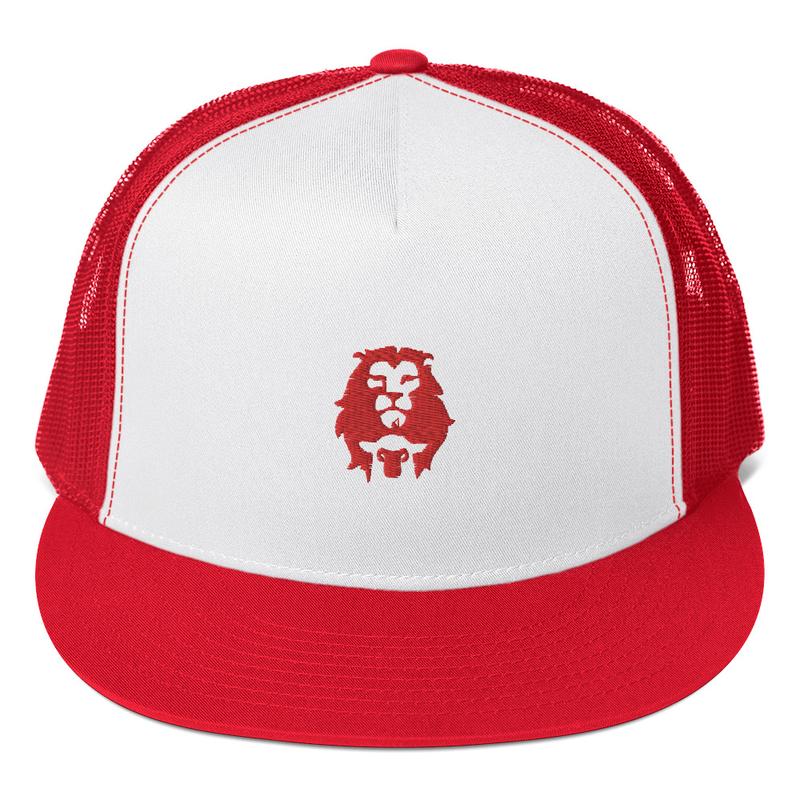 Lion & Lamb Trucker Cap