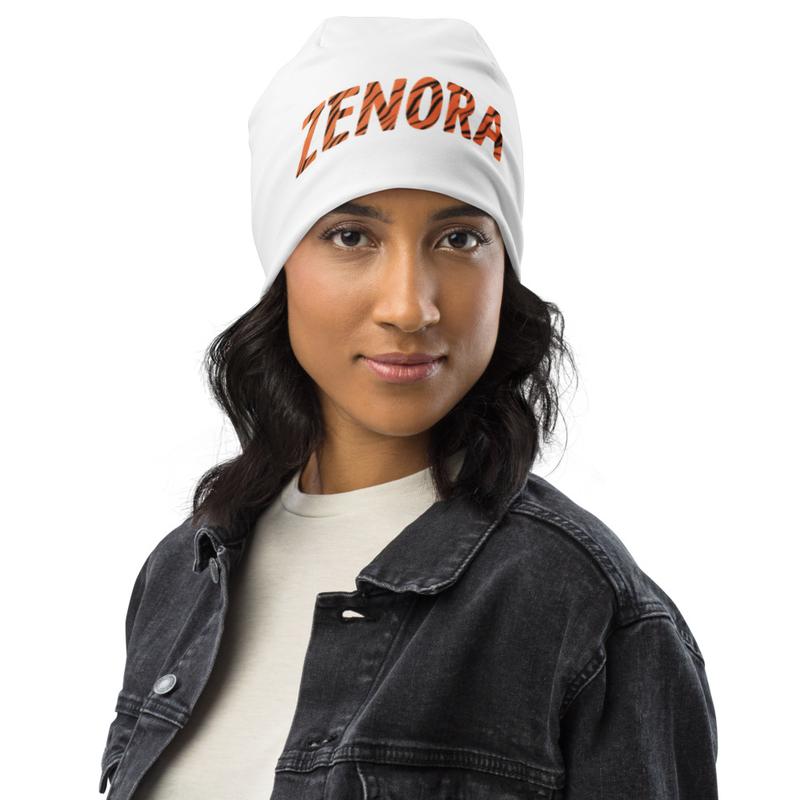 Chill Zenora Print Beanie
