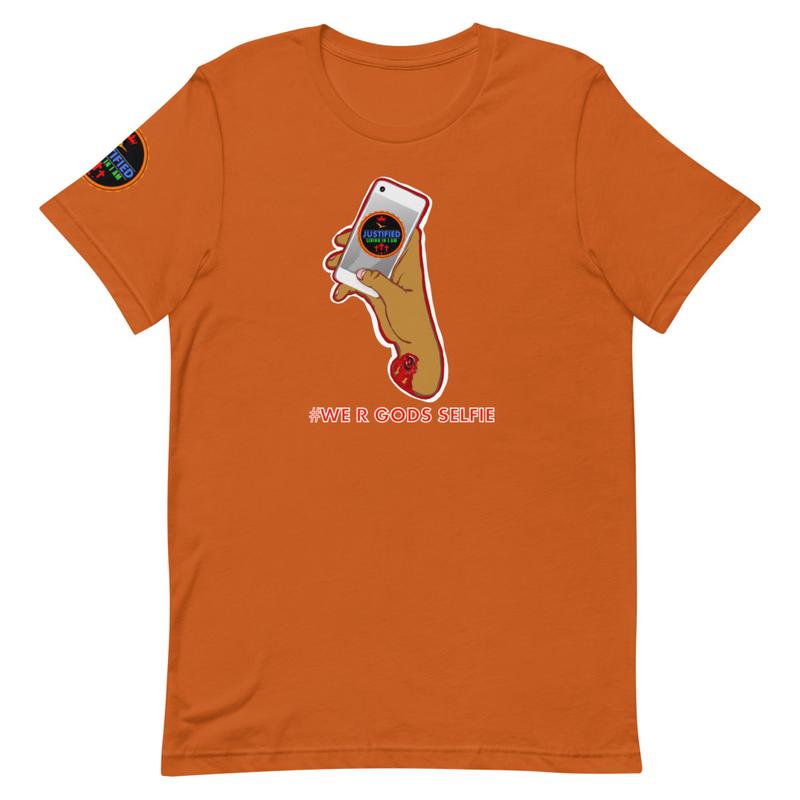 God's Selfie unisex Tshirt