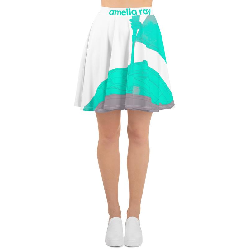 """""""Marooned"""" Skater Skirt"""