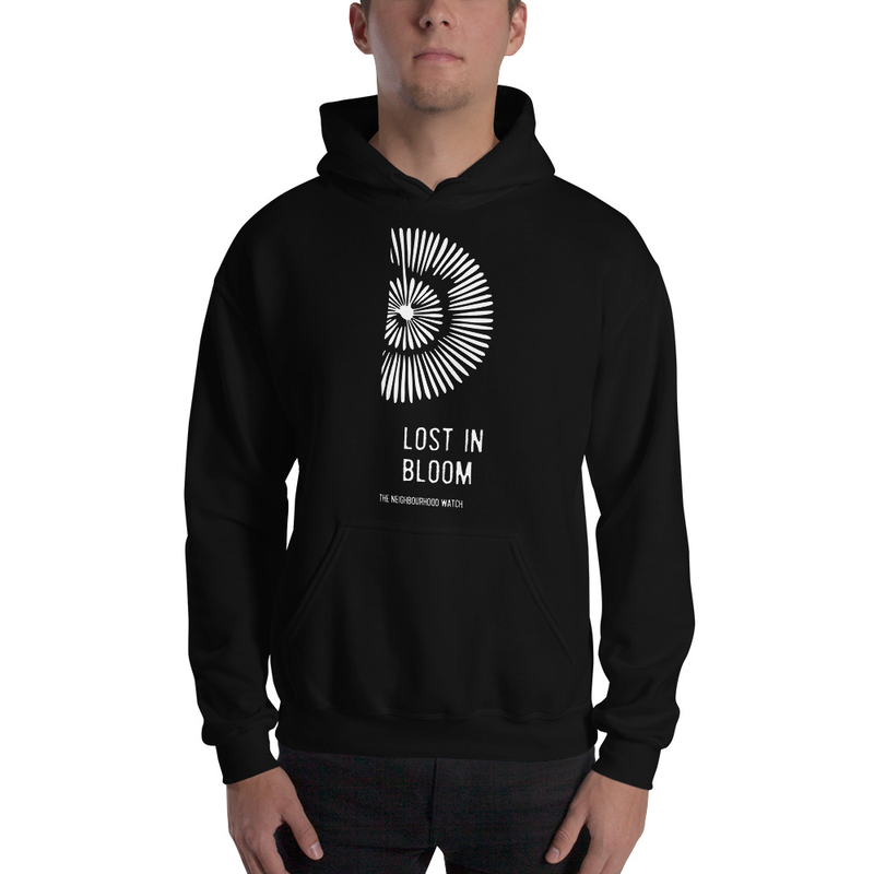 LOST IN BLOOM - Hoodie (black)