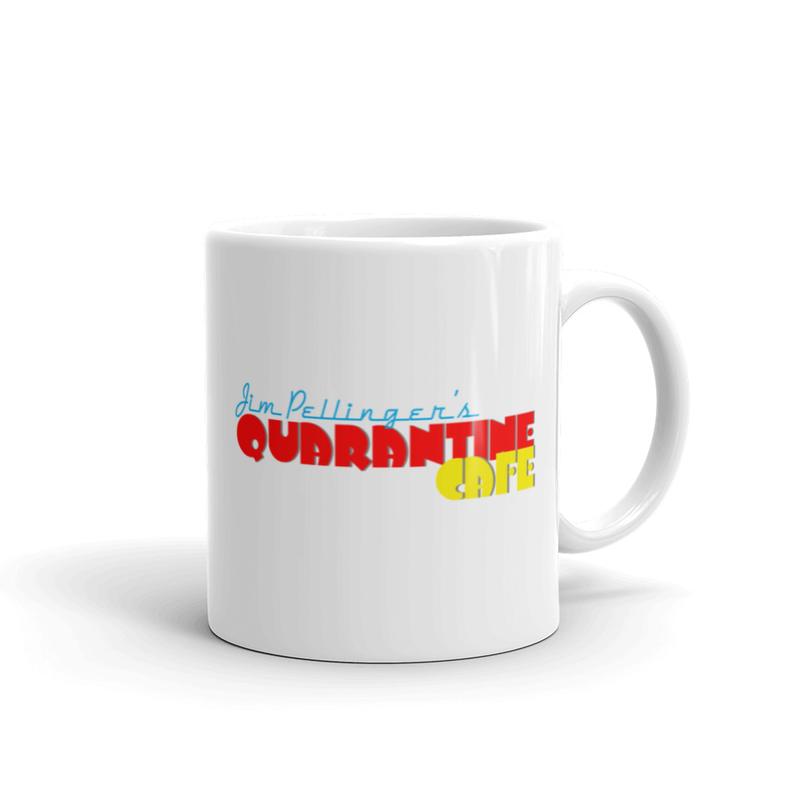JPQC White glossy mug
