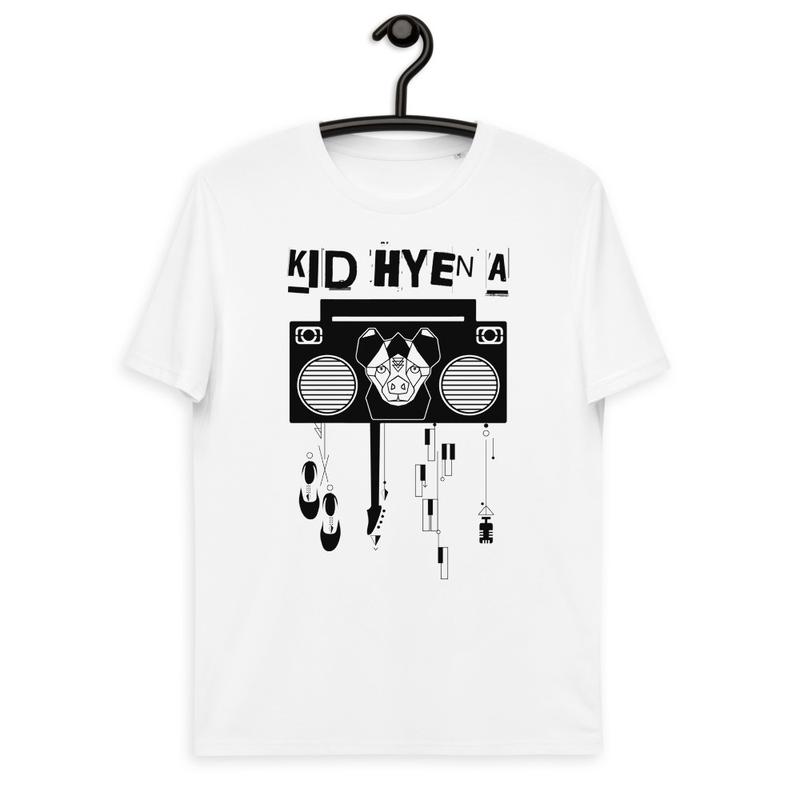 Kid Hyena Full Logo Unisex organic cotton t-shirt