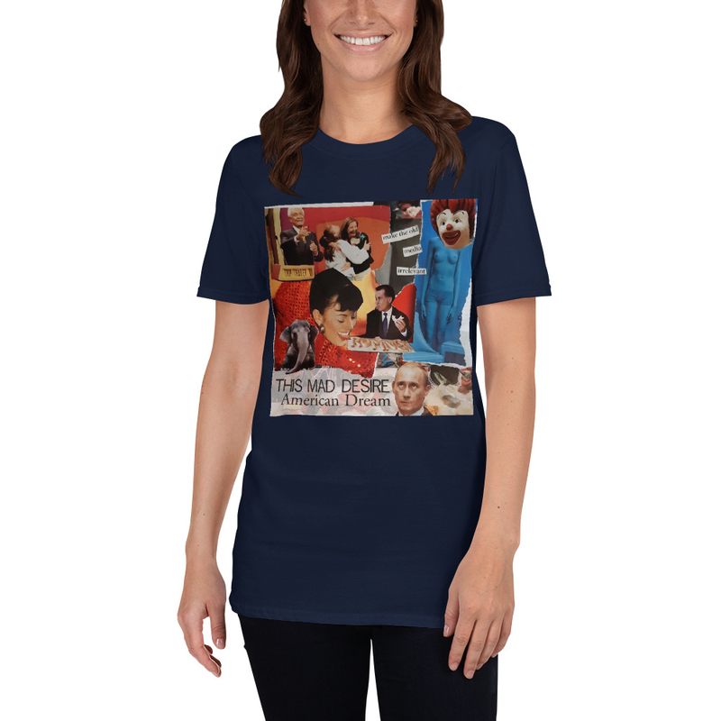 TMD Make The Old Media Irrelevant Short-Sleeve Unisex T-Shirt