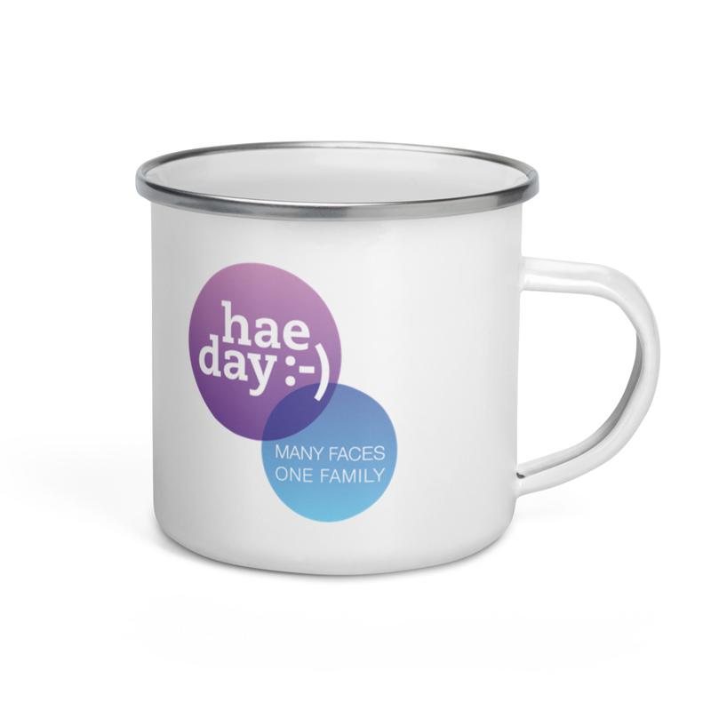 Drinkware - hae day :-) Enamel Mug