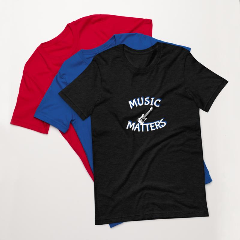 Music Matters (Bass) Unisex T-Shirt