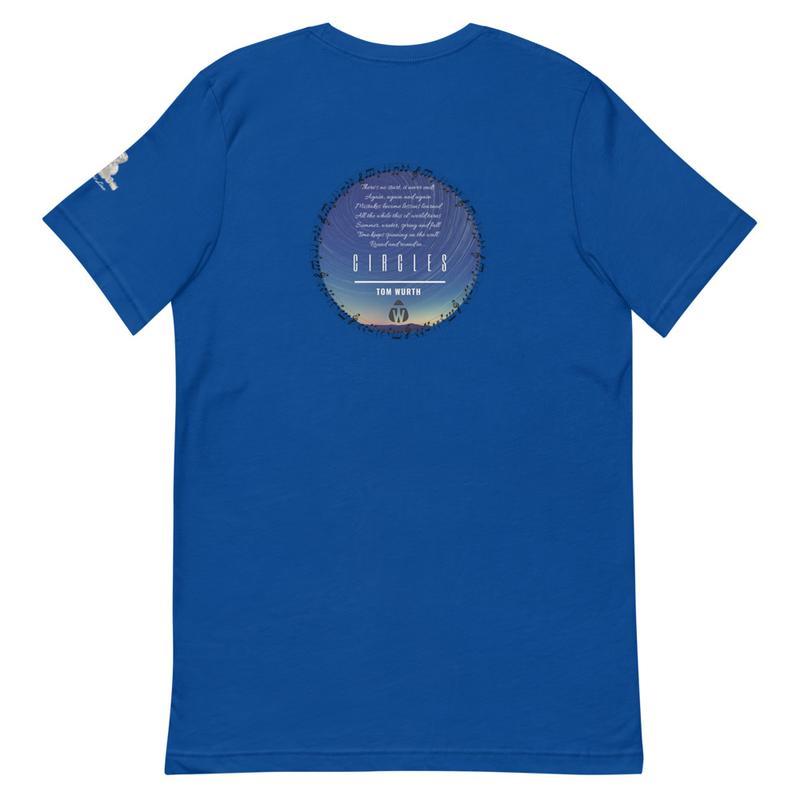 """Circles"" - TW Lyric Line T-shirt"