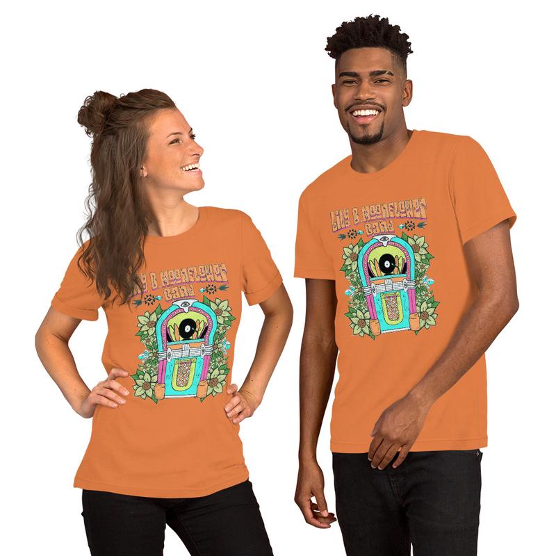Jukebox Band T-Shirt - Unisex - Bella Canvas
