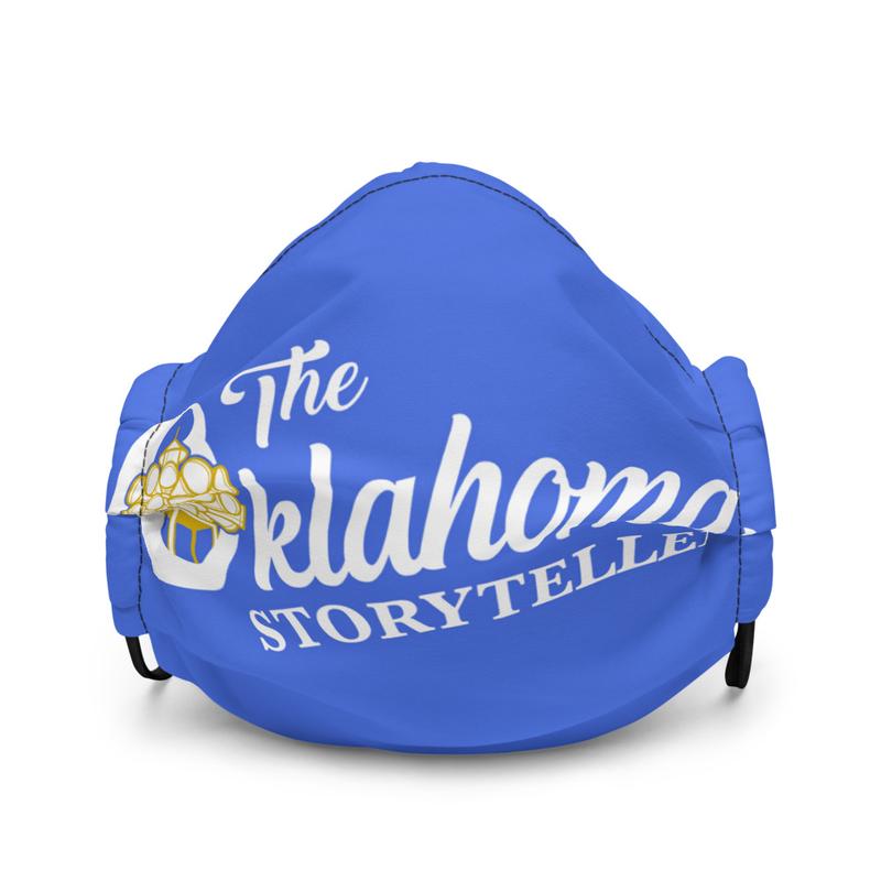 The Oklahoma Storyteller Face Mask