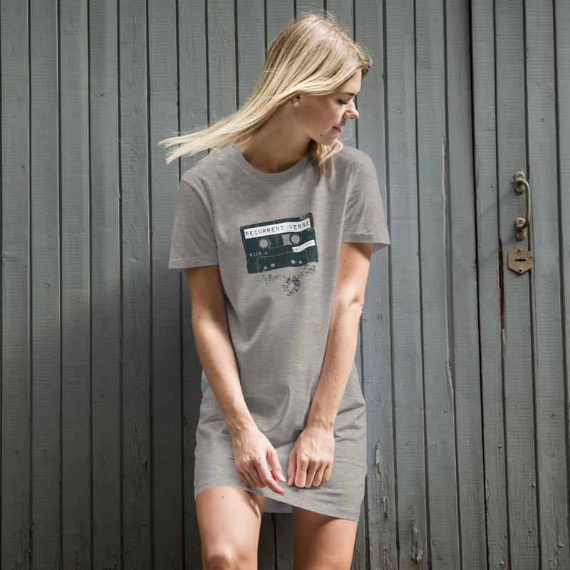 Organic Cotton Tape Logo T-Shirt Dress