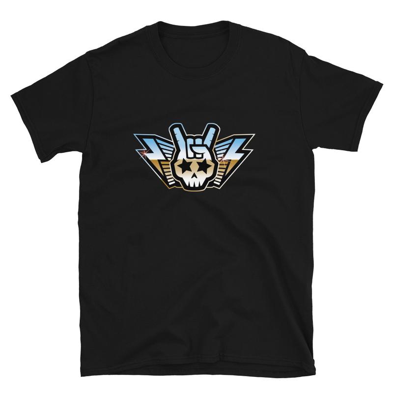 TARS Skull Rock Hand Retro T-Shirt
