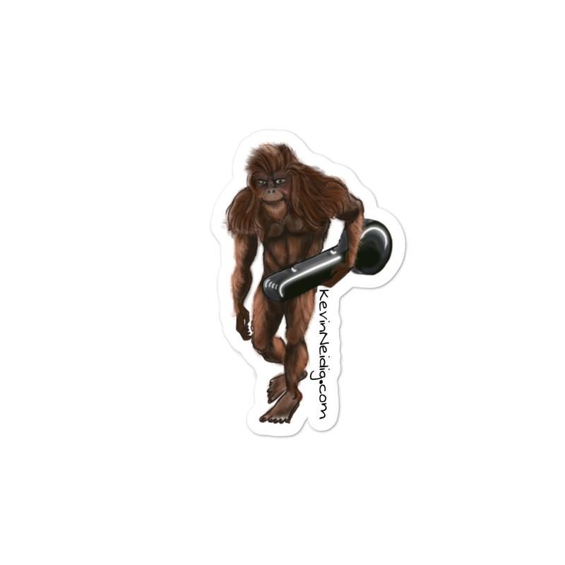 Sasquatch stickers