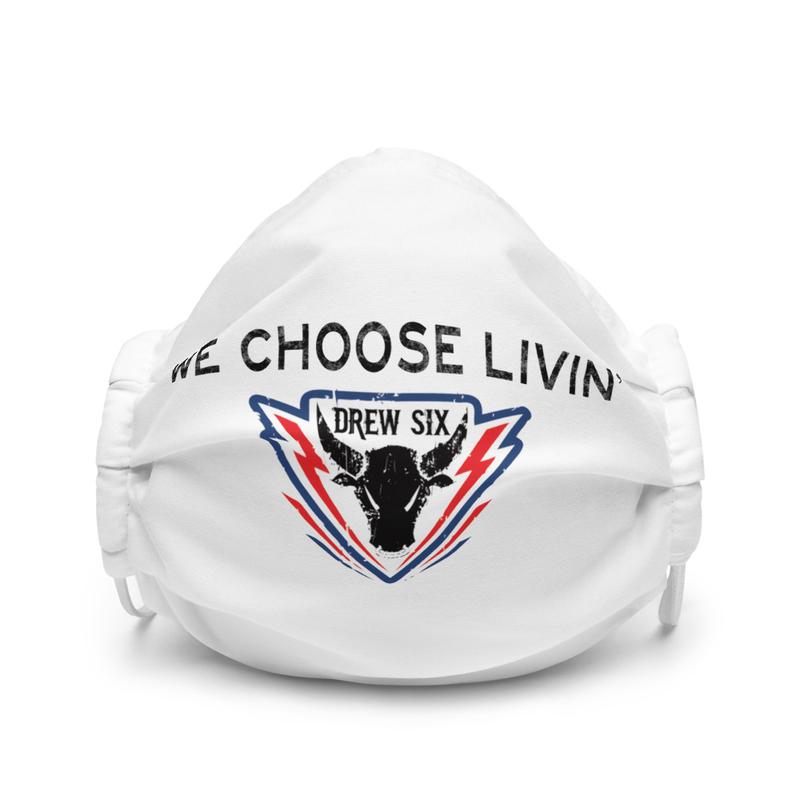 We Choose Livin' premium face mask