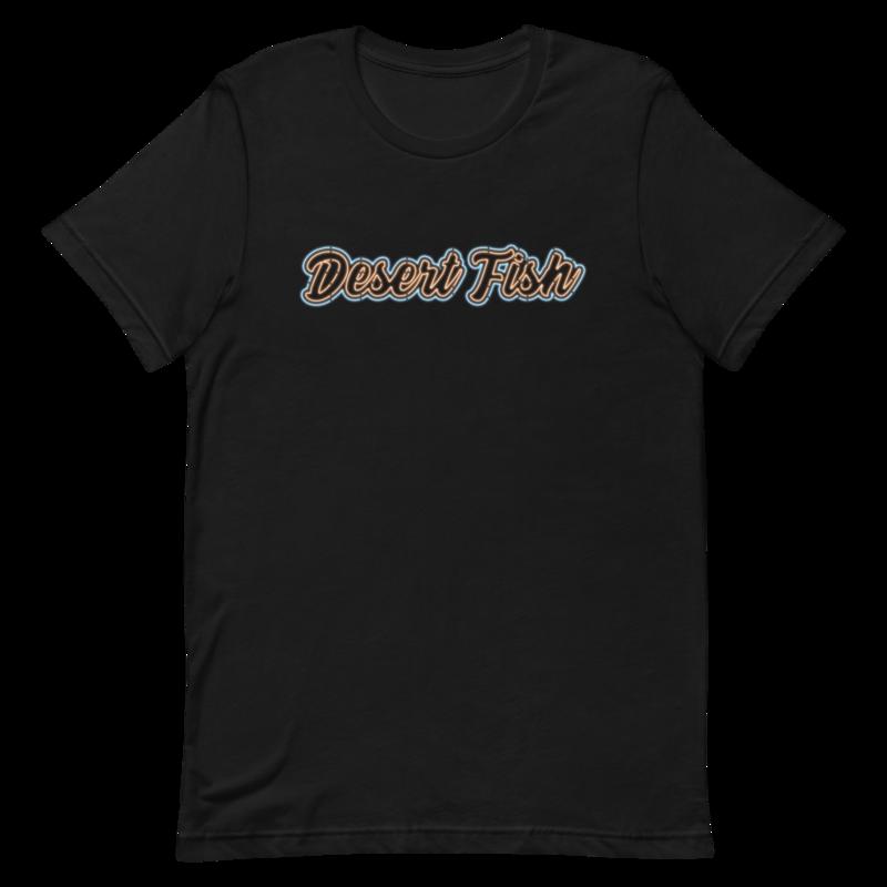 DF Blue-Orange Neon T-Shirt
