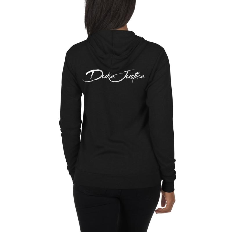 DJ Lightweight zip hoodie (Black)