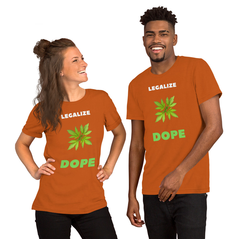 Legalize Dope Short-Sleeve Unisex T-Shirt