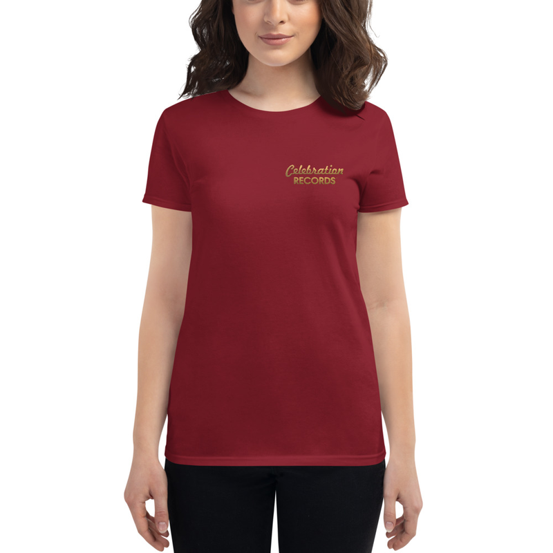 Women's Celebration Records Short Sleeve T-shirt