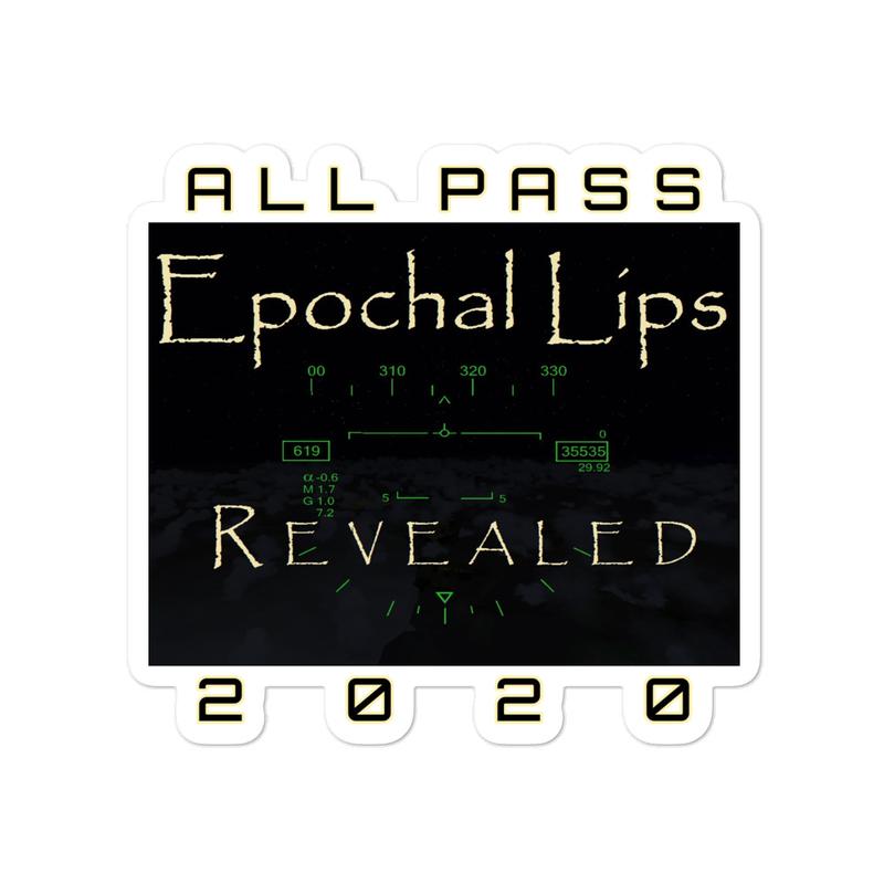 REVEALED 2020 Sticker