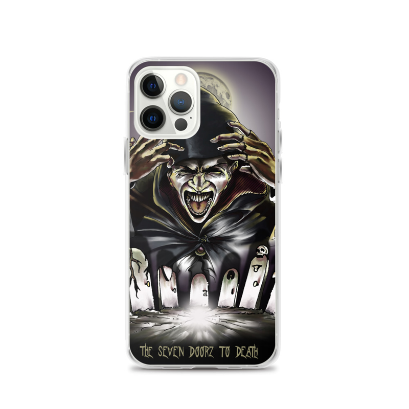 The Seven Doorz To Death iPhone Case