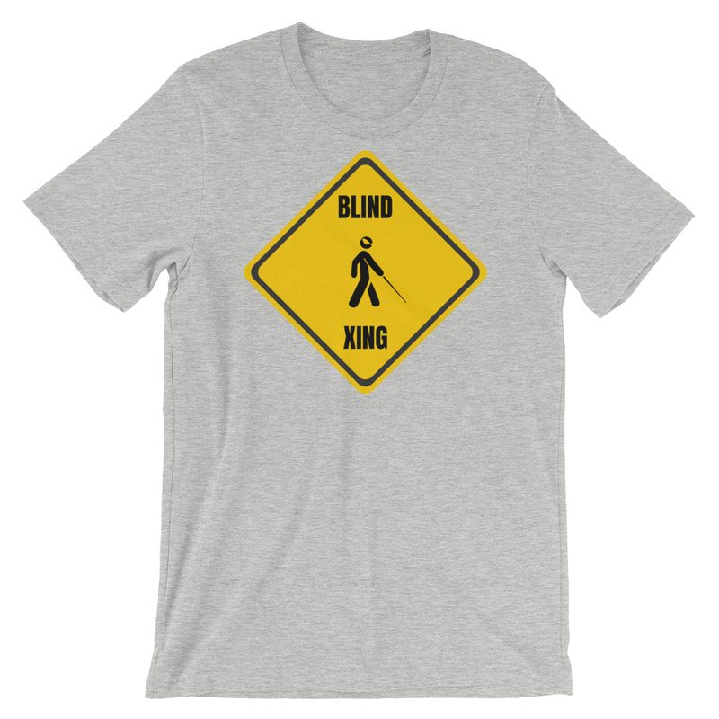 bLiNd Crossing Short-Sleeve Unisex T-Shirt