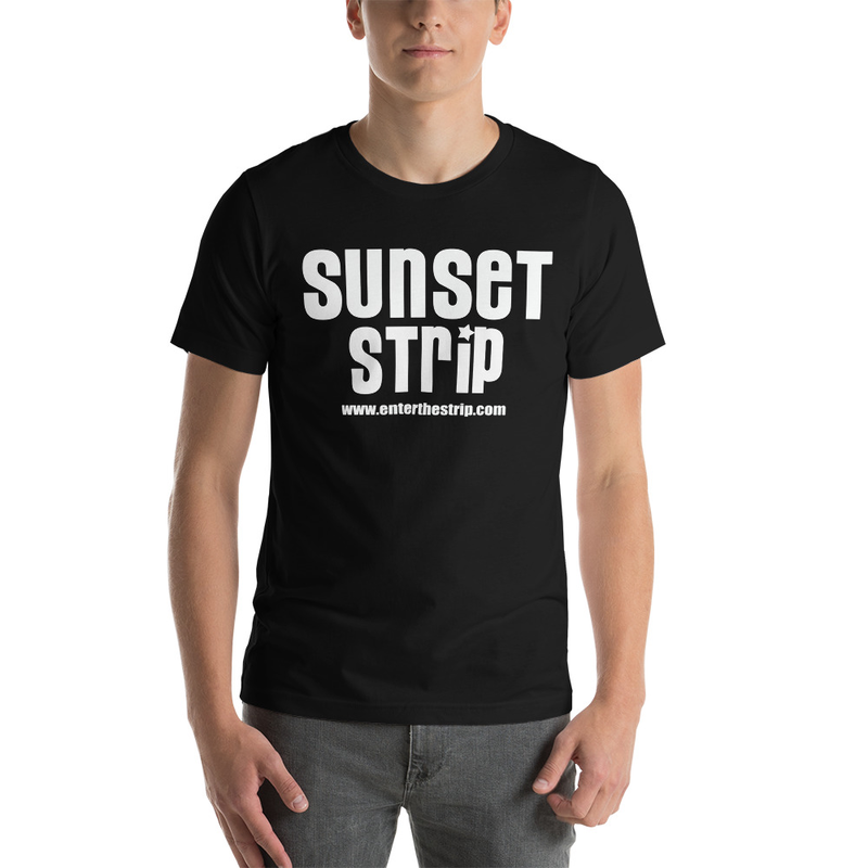 "Men's Sunset Strip ""Classic Logo"" Short-Sleeve Tee"
