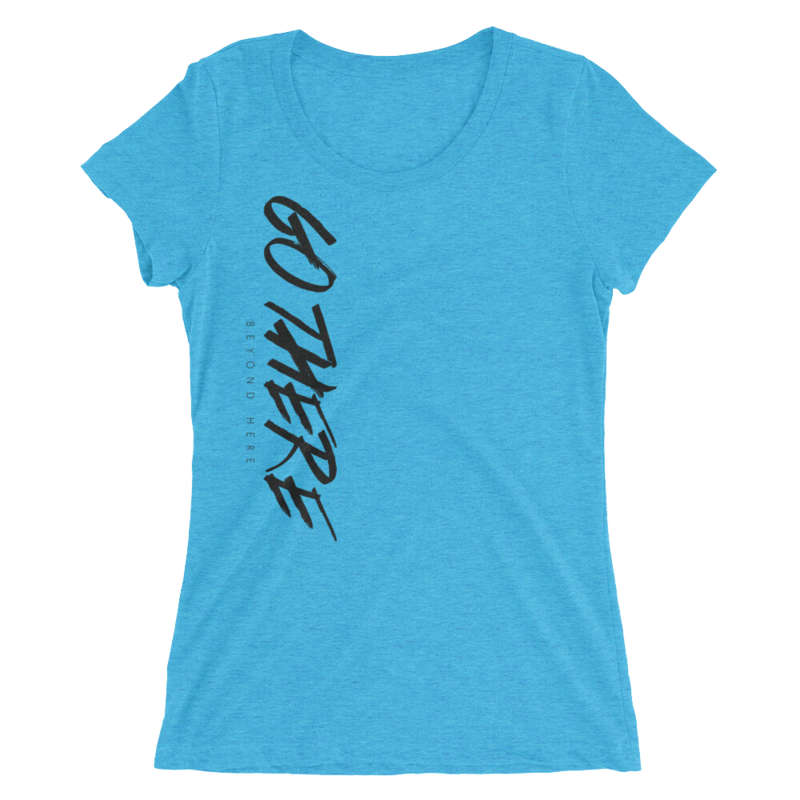 Go There Ladies' short sleeve tri-blend