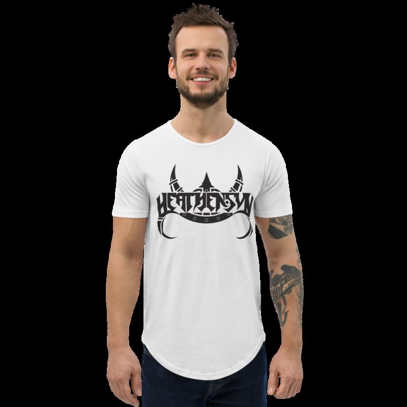 Heathensun Men's Curved Hem T-Shirt