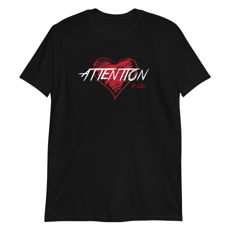 ATTENTION Short-Sleeve Unisex T-Shirt