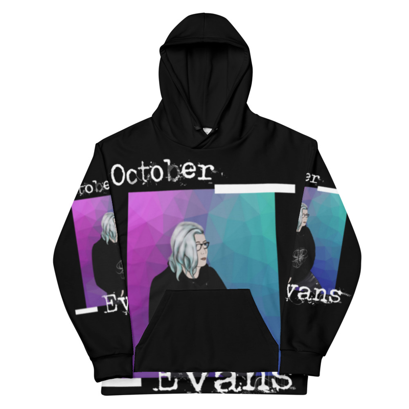 Animated October Evans All-Over Print Unisex Hoodie