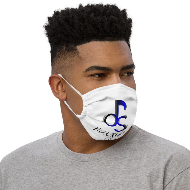 DSMuzik Logo Premium face mask