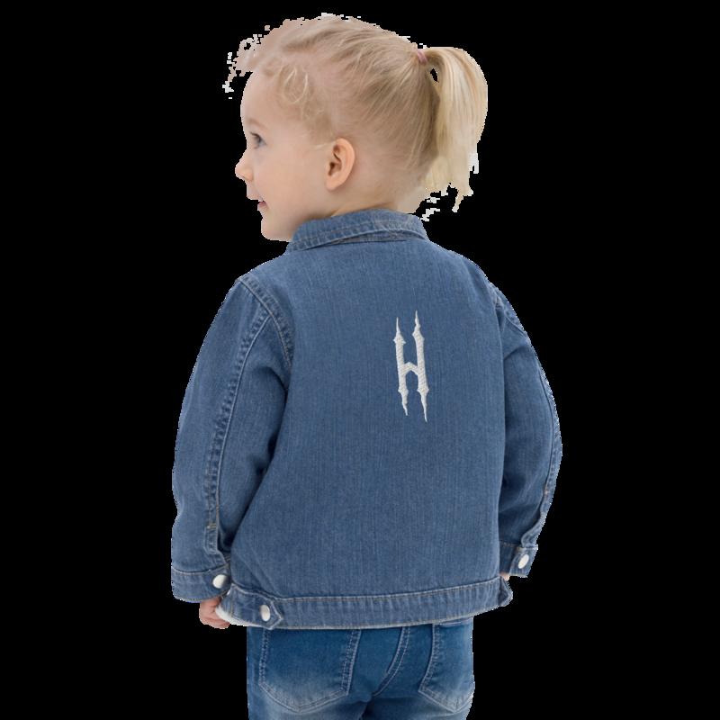 HONESTGANG Embroidered Organic Kids Denim Jacket