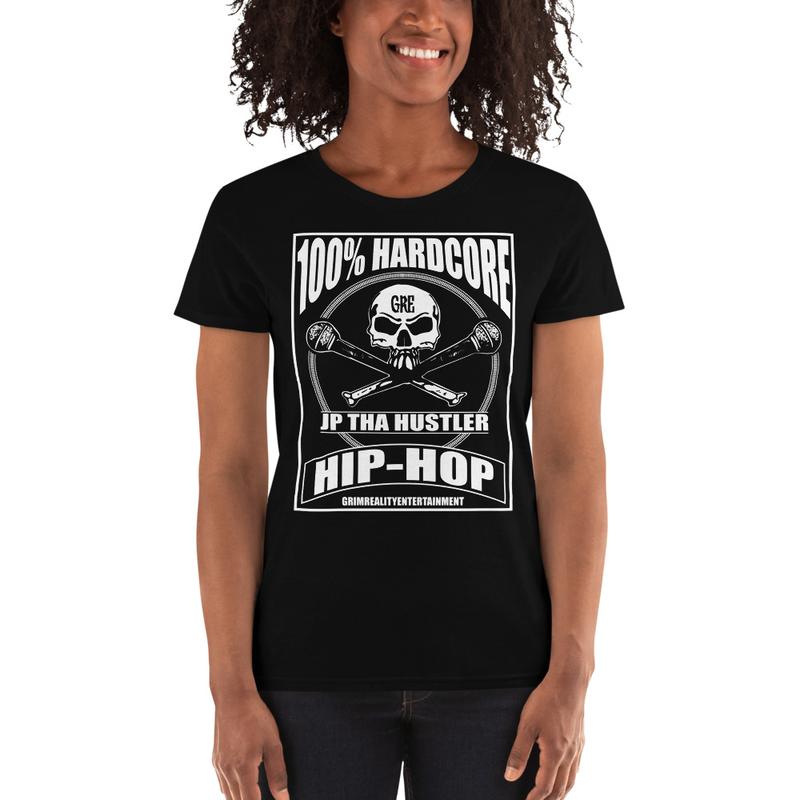 Women's 100% Hardcore Shirt