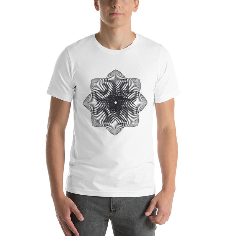 FlowerHead - White T-Shirt