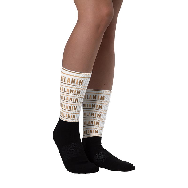 Just Melanin PERIOD Socks
