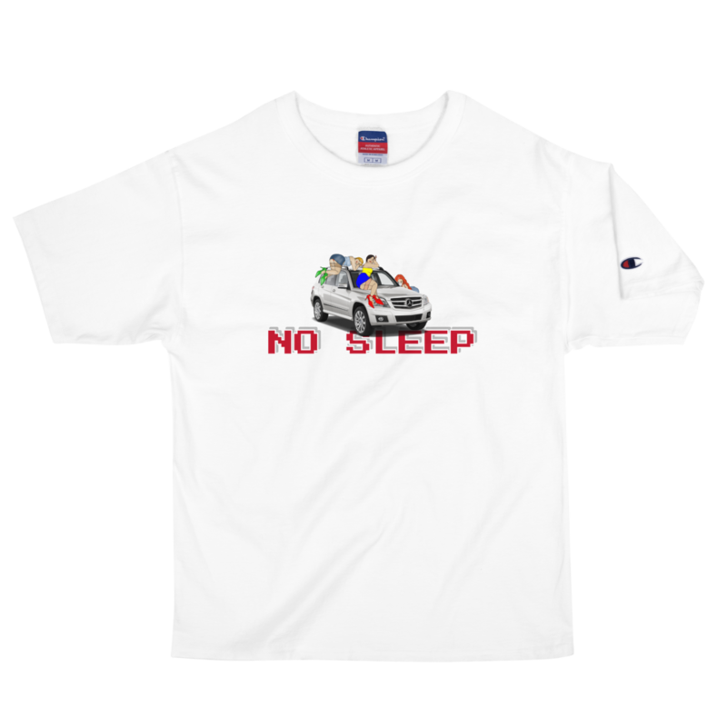 No Sleep Champion T-Shirt