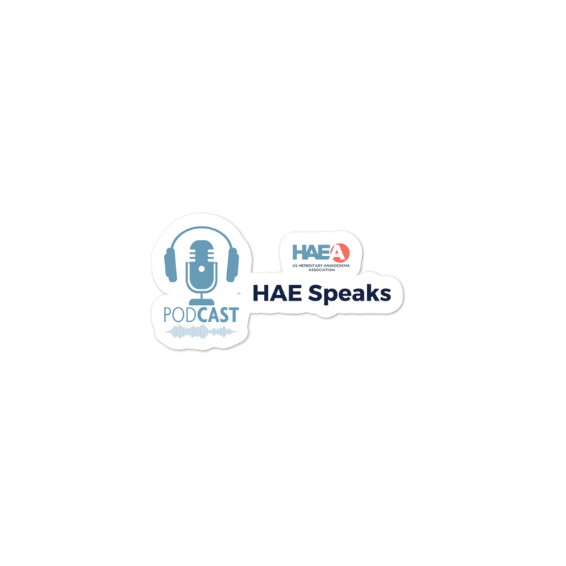 Accessories - HAE Speaks Podcast Sticker