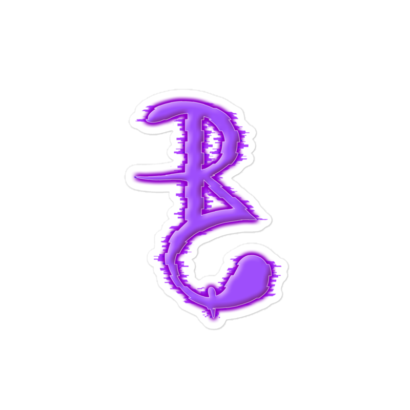 "The ""B"" - (Sticker)"