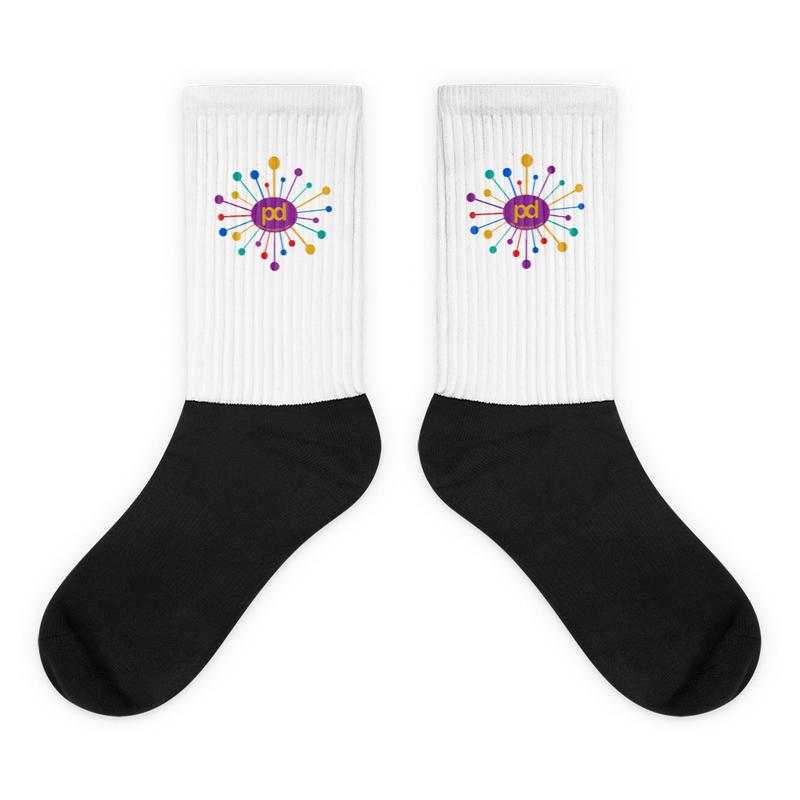 Phil Dutra Starburst Logo Socks