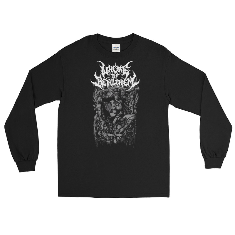 WoB - Whore Queen F/B Longsleeve