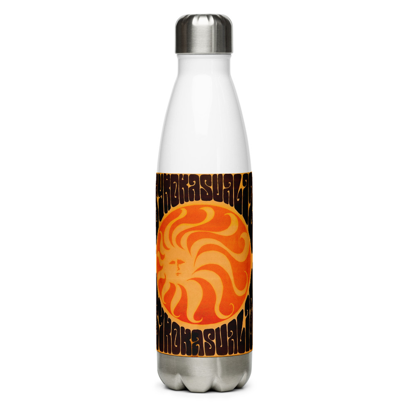 PsychoKasualize Stainless Steel Water Bottle