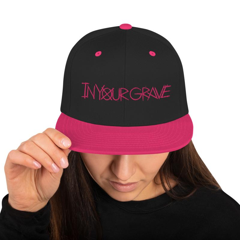 Pink Snapback Hat
