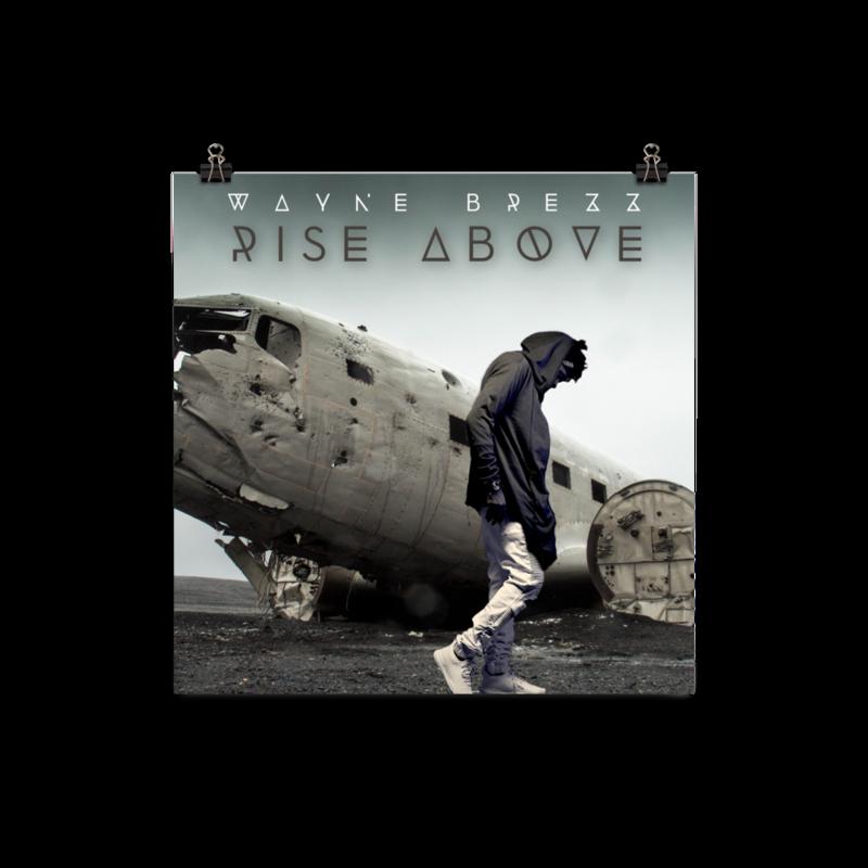 Rise Above Album paper poster