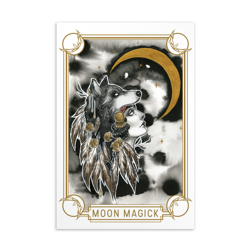 Moon Magick Postcard