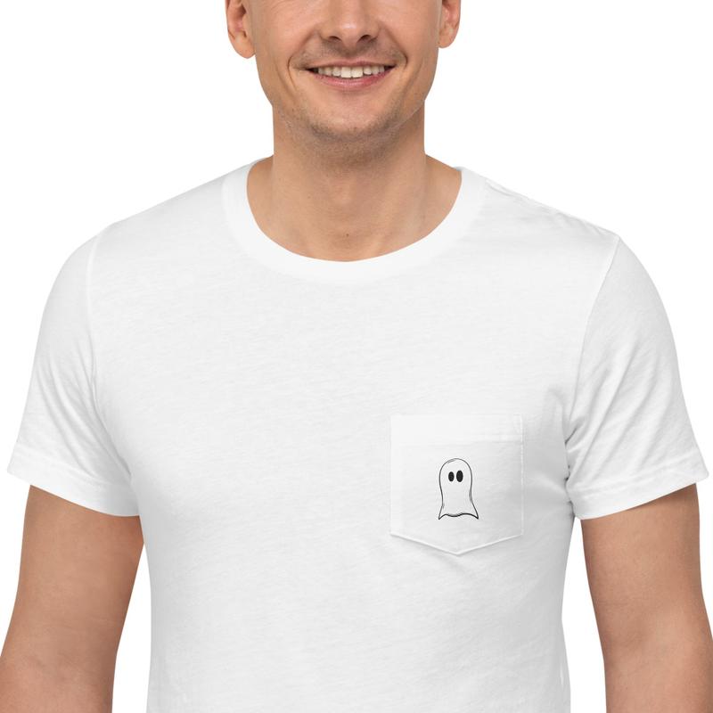 Ghostly White - White T-Shirt thumbnail